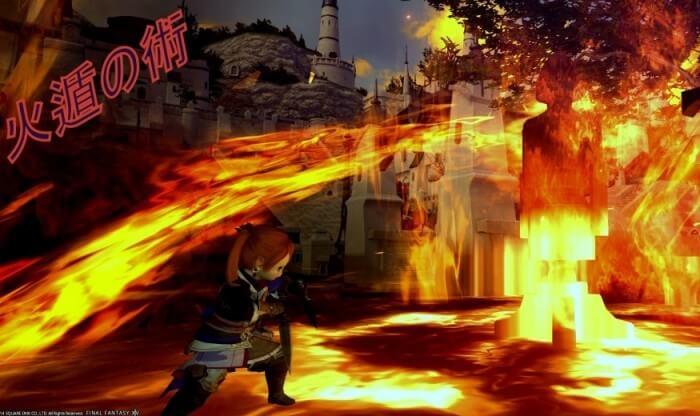【FF14】忍者実装!華麗な技をSSでご紹介!!