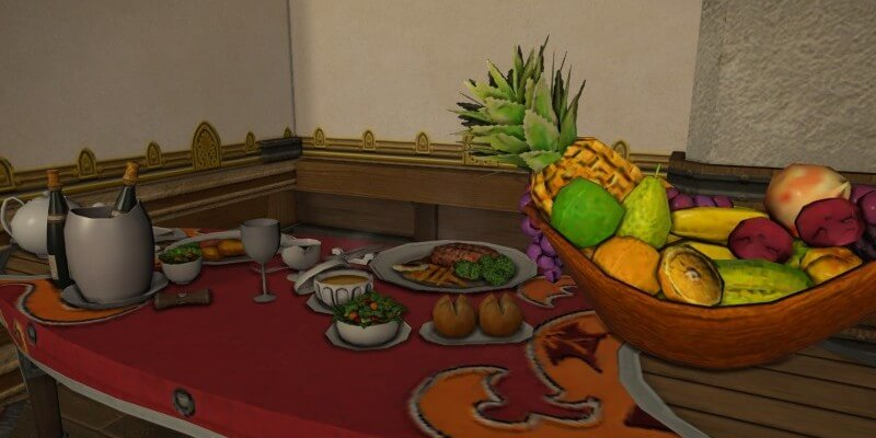 【FF14】調度品料理 効果一覧