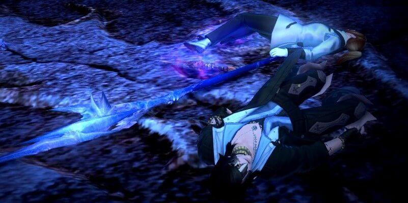【FF14】氷上の竜騎士