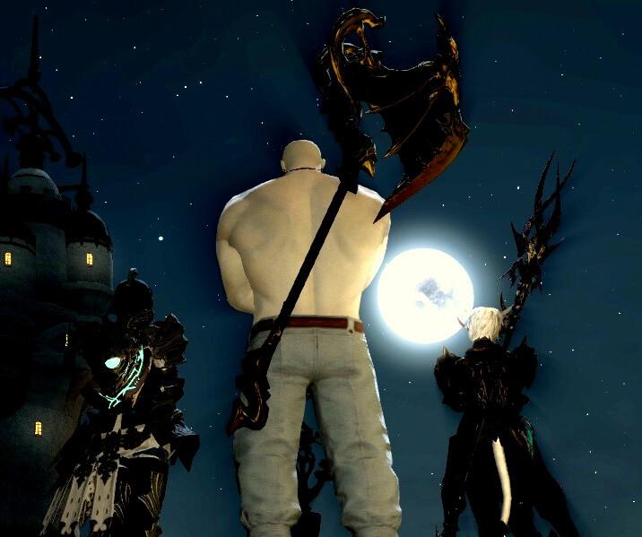 【FF14】闇の世界にいた珍しいうさぎ