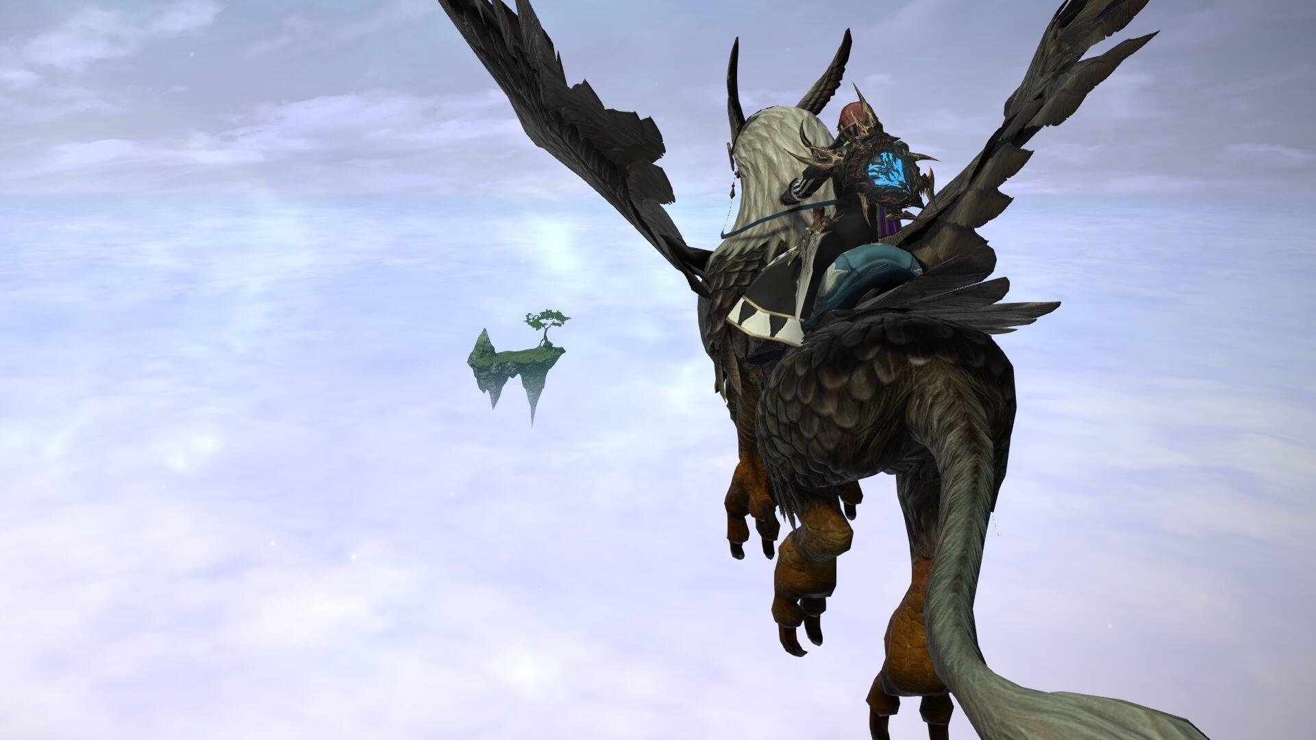 【FF14】新24人レイド『魔航船ヴォイドアーク』をアヴァラシア雲海で見た!!