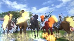 【FF14】★FCイベント★落下死万歳!人数制限解除で『蛮神馬』GET対決!