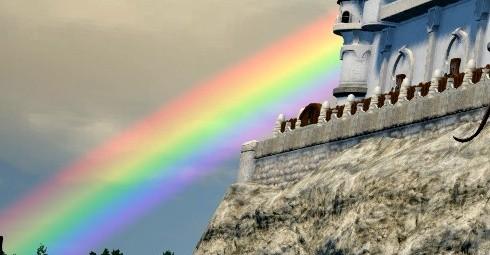 【FF14】空にかかる七色の虹!エオルゼアの祝福