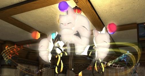 【FF14】モグモグ・シャンデリア設置!~恐怖のキノコ椅子~