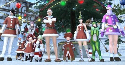 【FF14】クリスマスな雰囲気を味わおう。復活を遂げたラクダ色