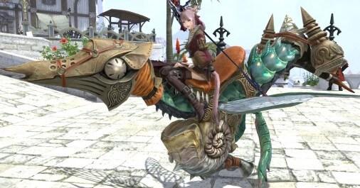 【FF14】パッチ3.2で実装!『グナース族の蛮族マウント』