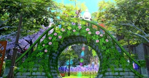 【FF14】グリーンアーチを見に行こう!FCメンバーお宅訪問